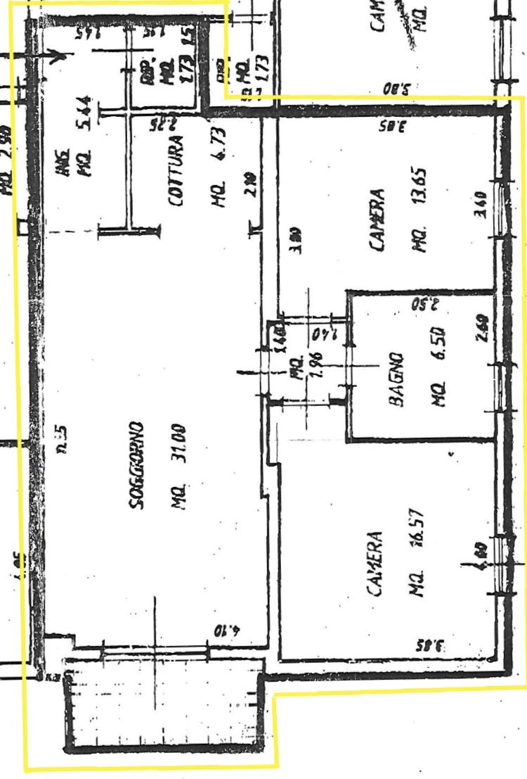 Planimetria 1/1 per rif. B/0207