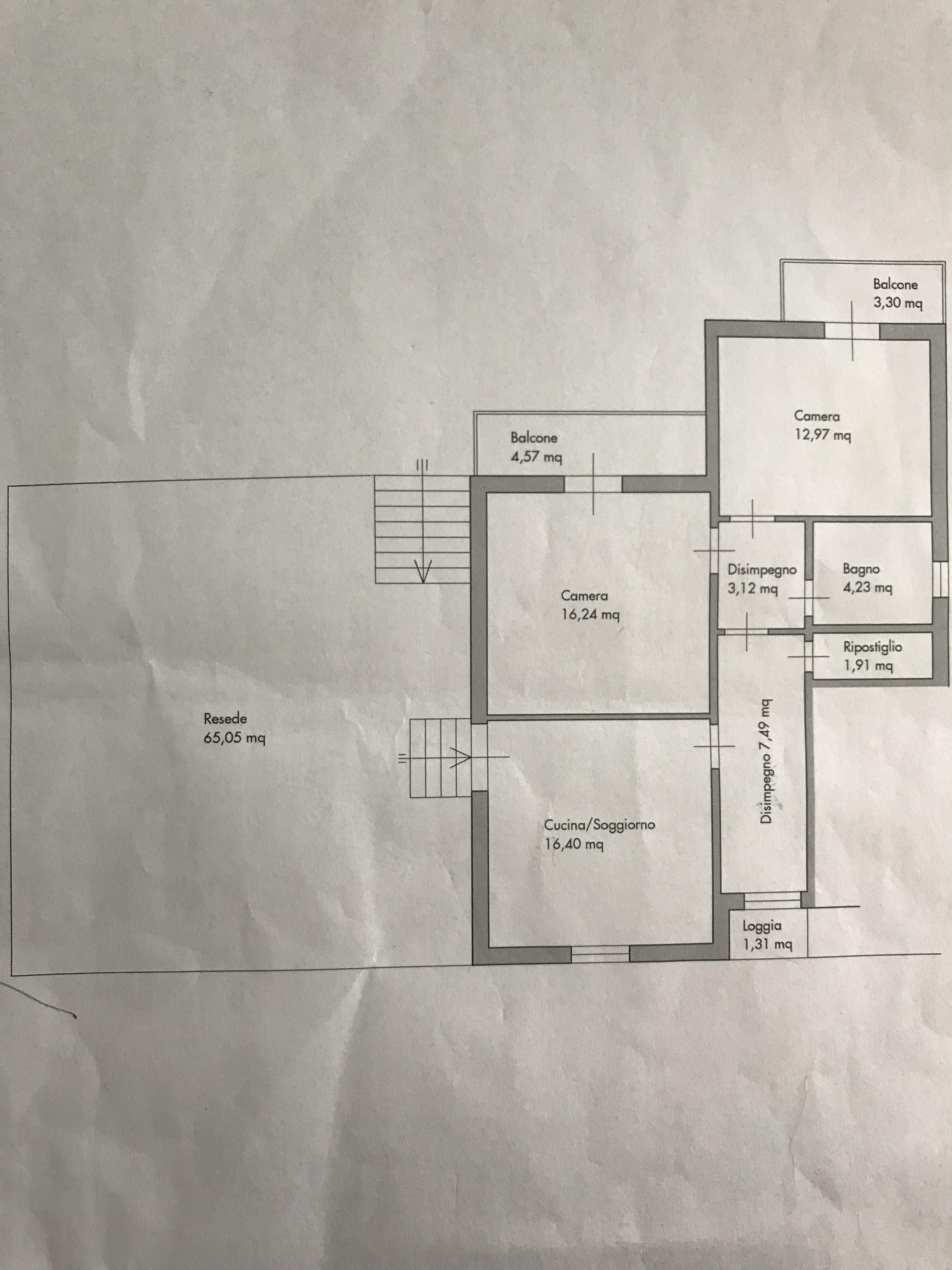 Planimetria 1/1 per rif. B/0232