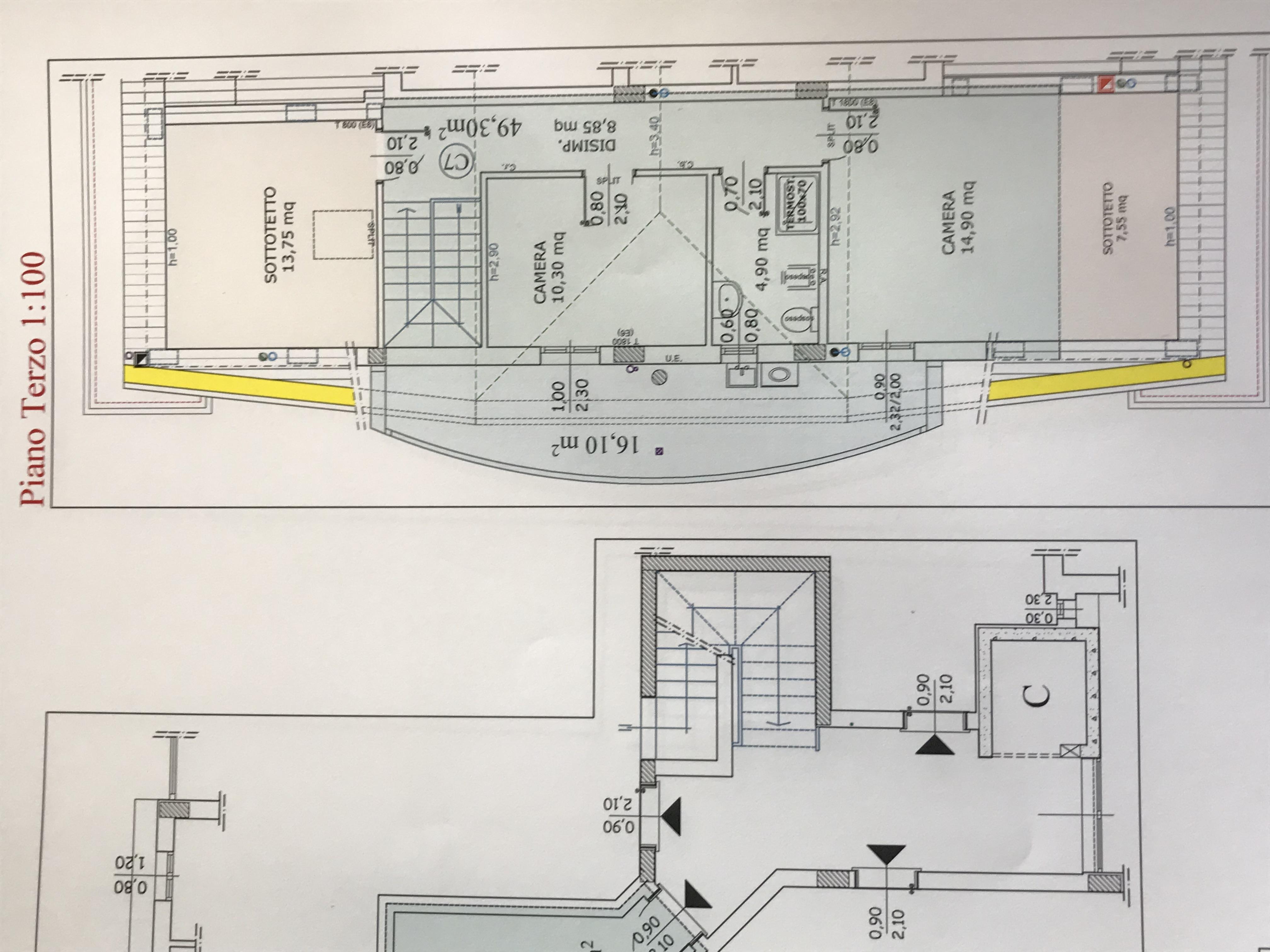 Planimetria 2/2 per rif. M/0197