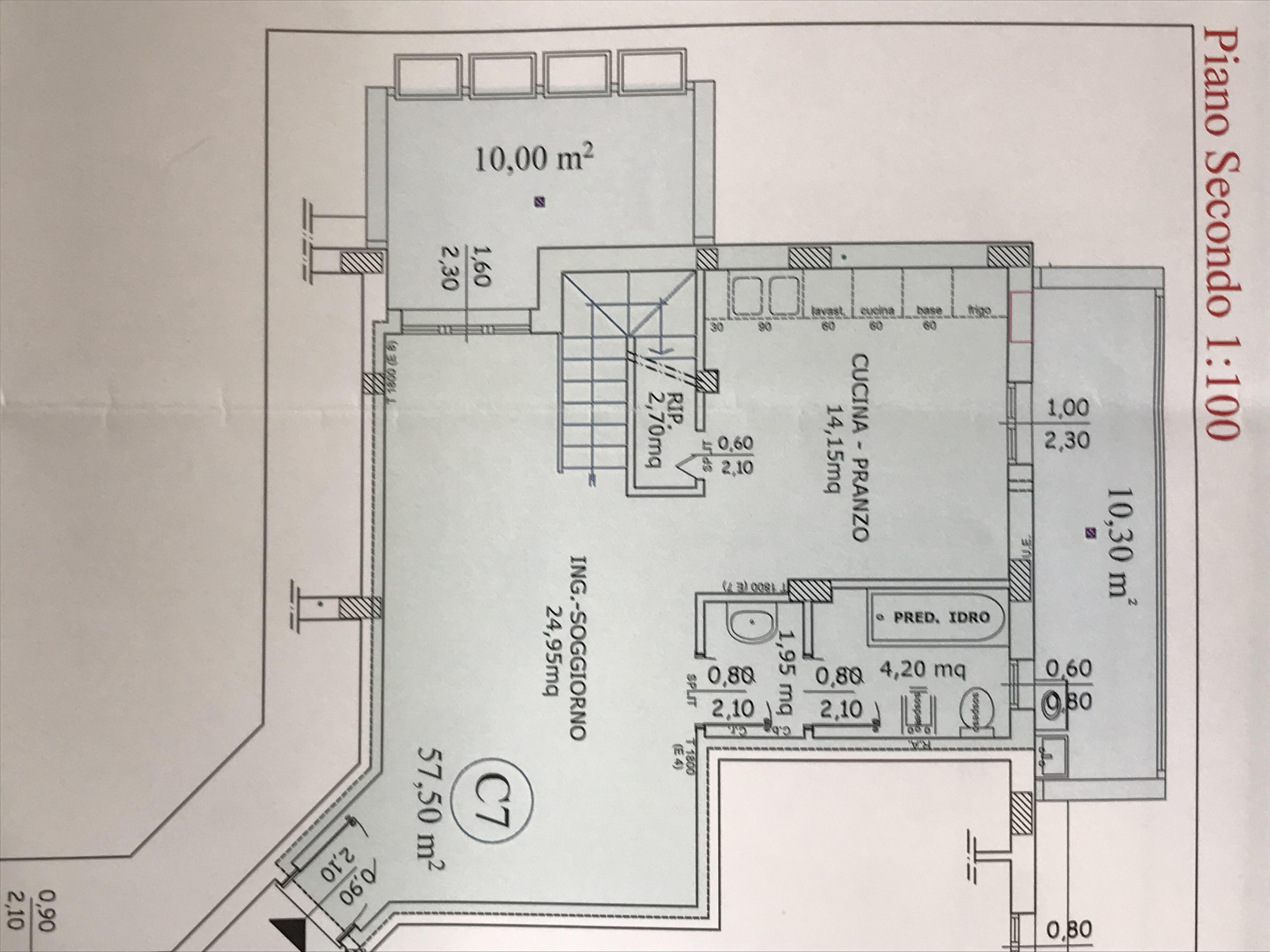 Planimetria 1/2 per rif. M/0197