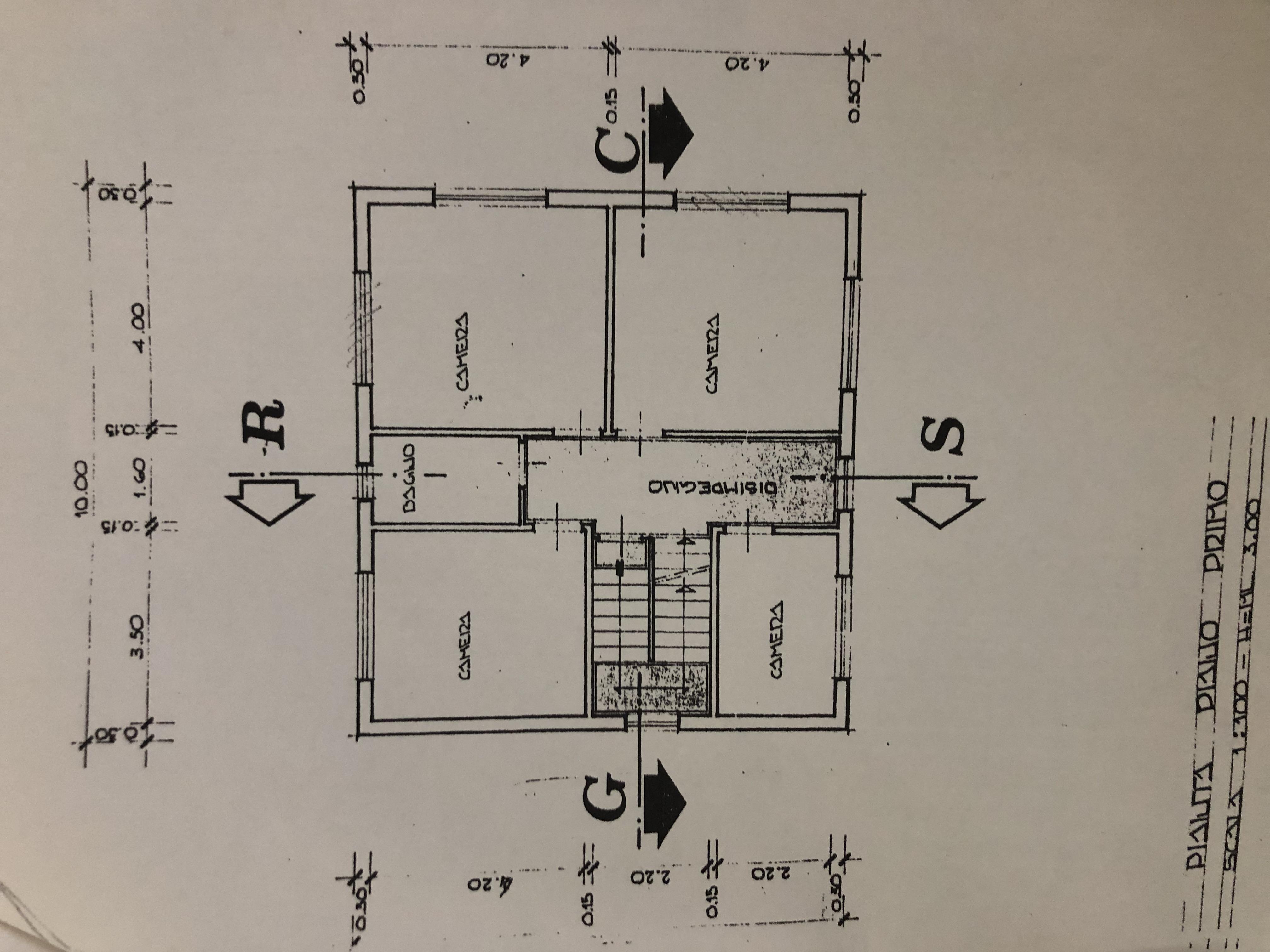 Planimetria 2/2 per rif. F/0260
