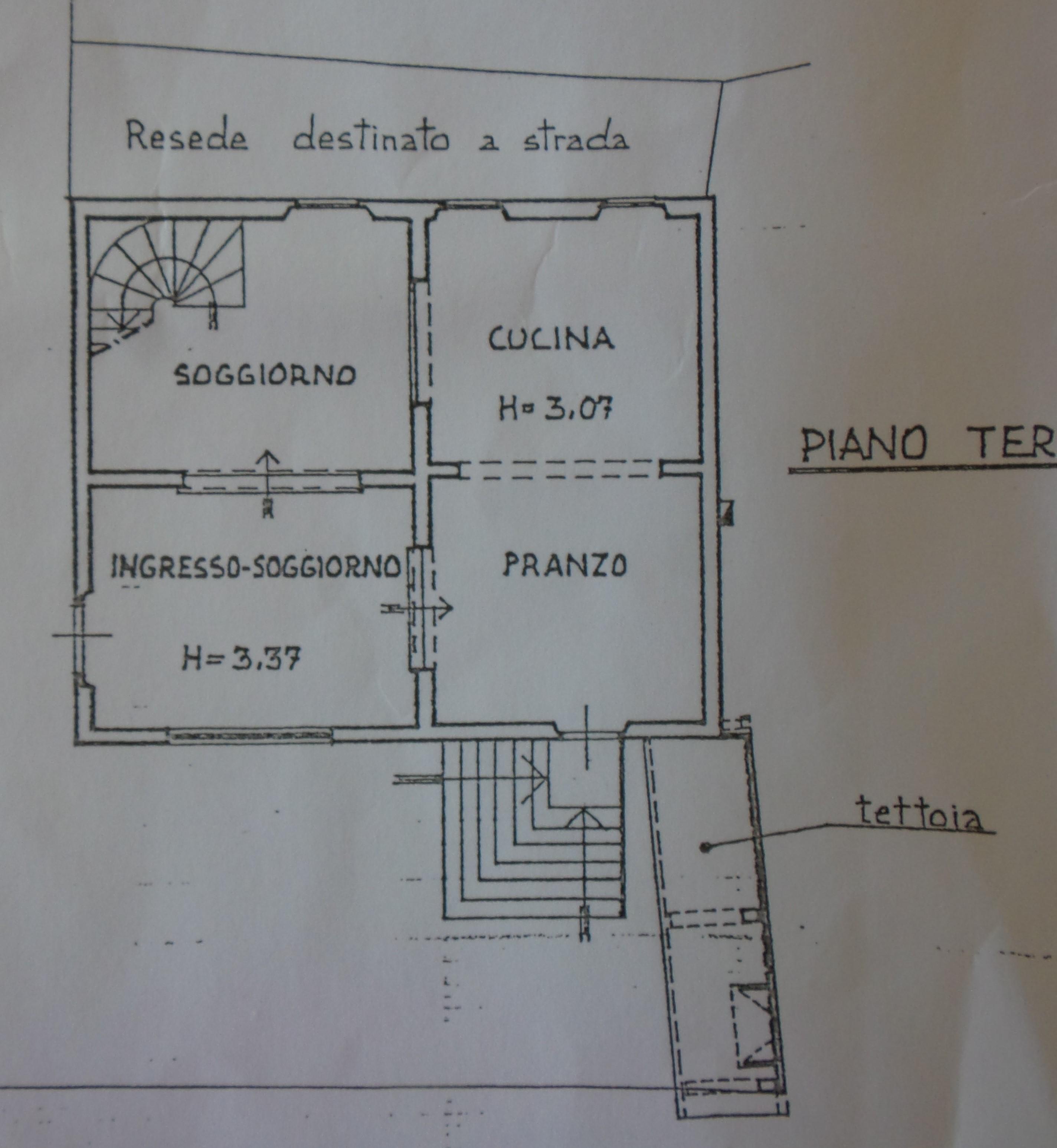 Planimetria 1/2 per rif. P/0126