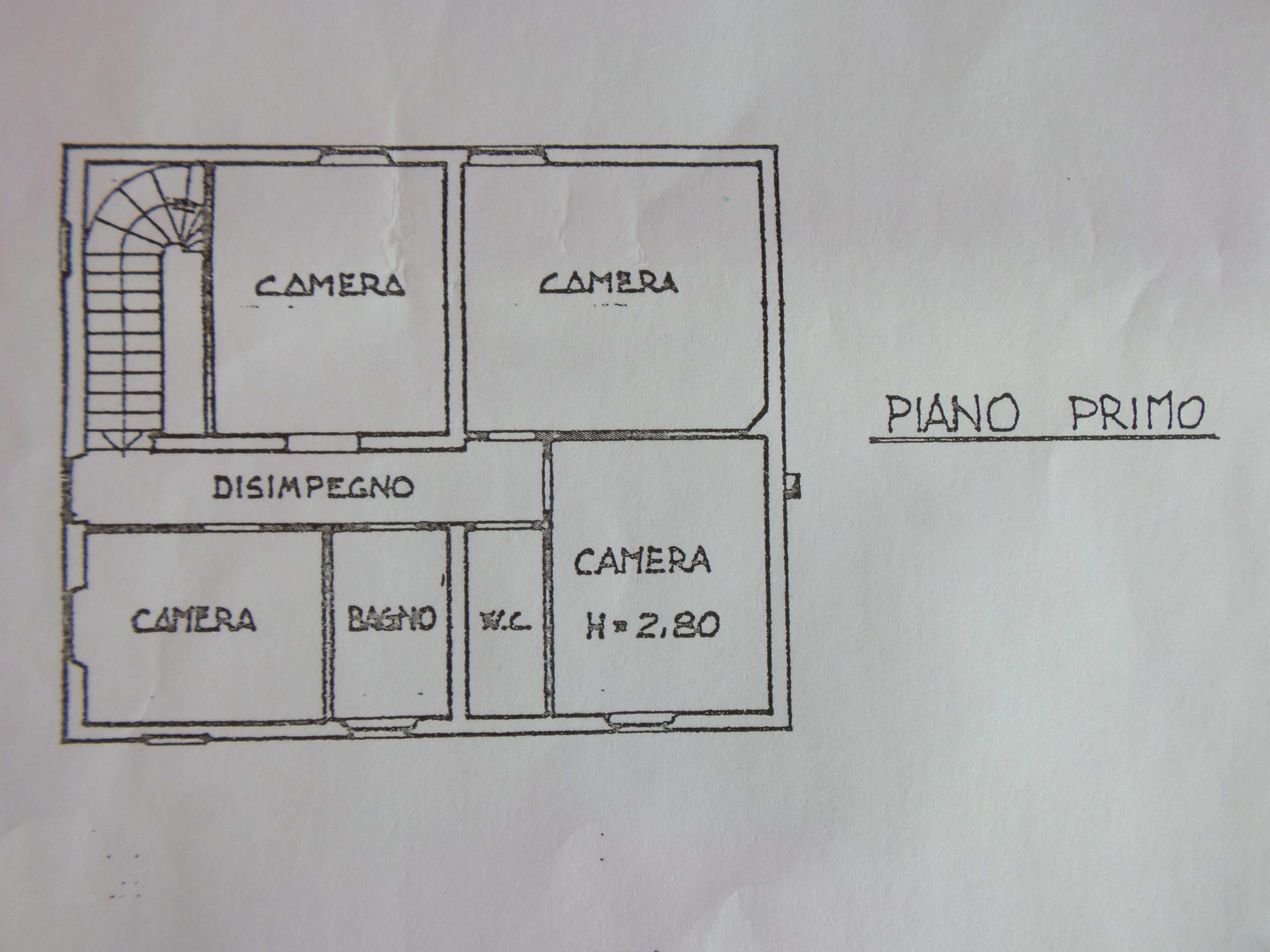 Planimetria 2/2 per rif. P/0126