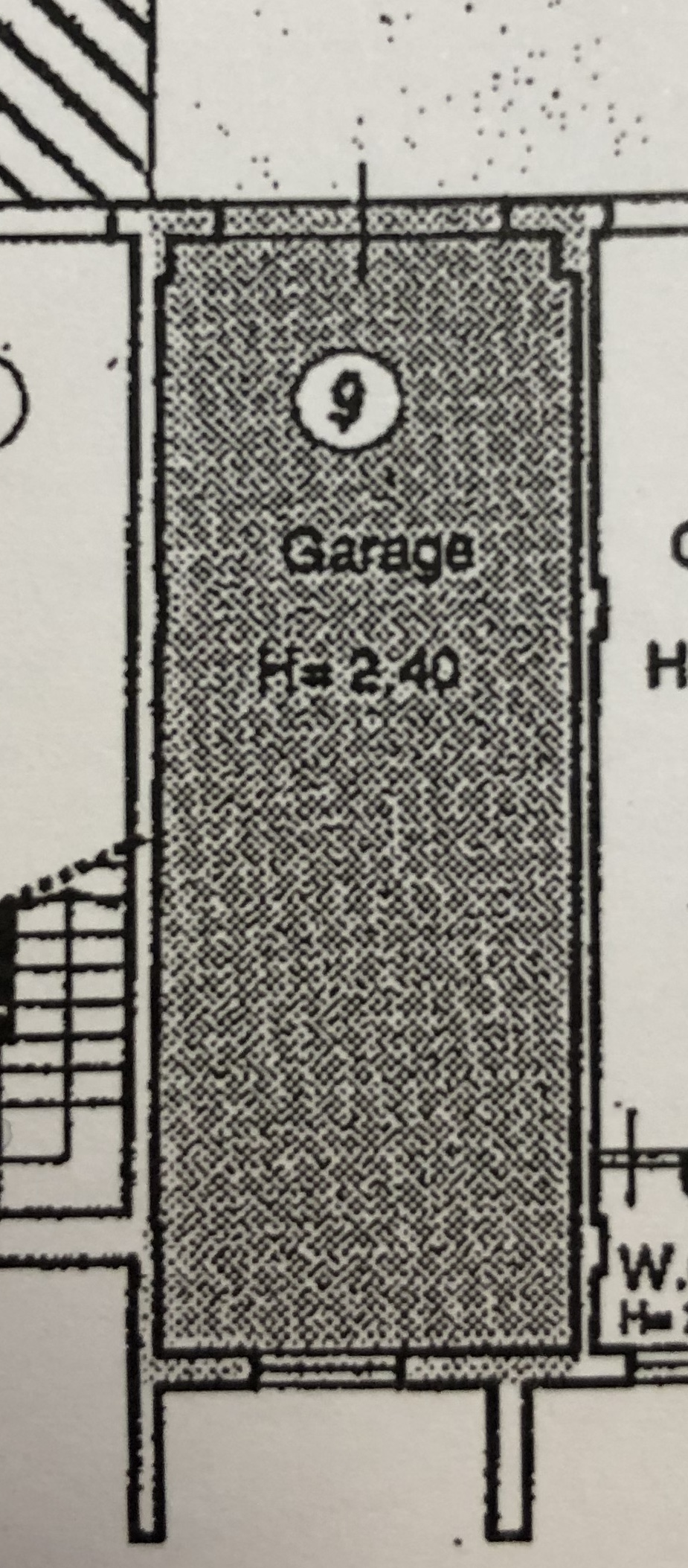 Planimetria 2/2 per rif. M/0201