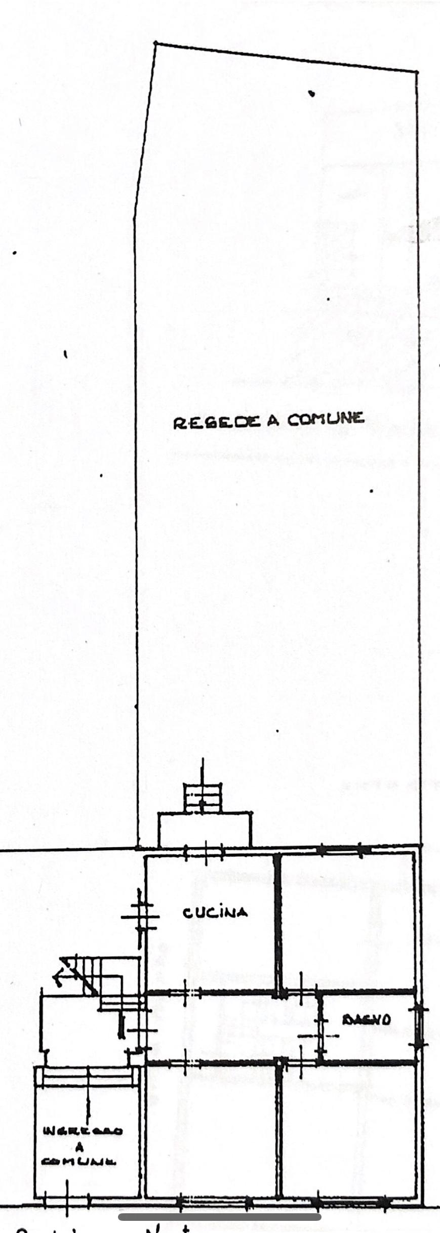Planimetria 3/4 per rif. M/0204