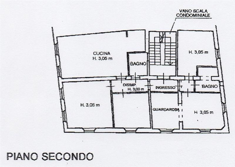 Planimetria 1/1 per rif. B/0167