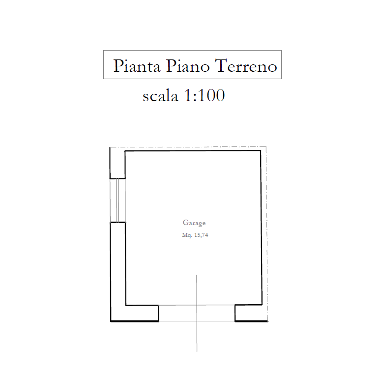 Planimetria 2/2 per rif. M/0209