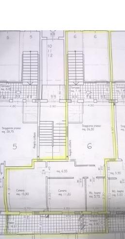 Planimetria 1/2 per rif. P/0129
