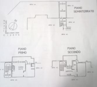 Appartamento in vendita, rif. P/0130 (Planimetria 1/2)
