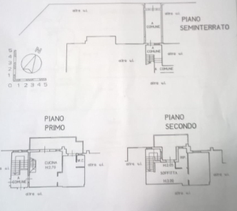 Planimetria 1/2 per rif. P/0130