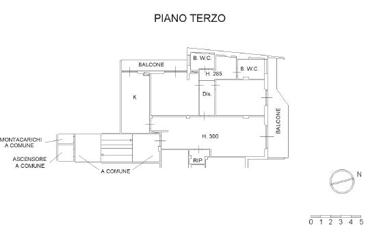 Planimetria 1/1 per rif. B/0170