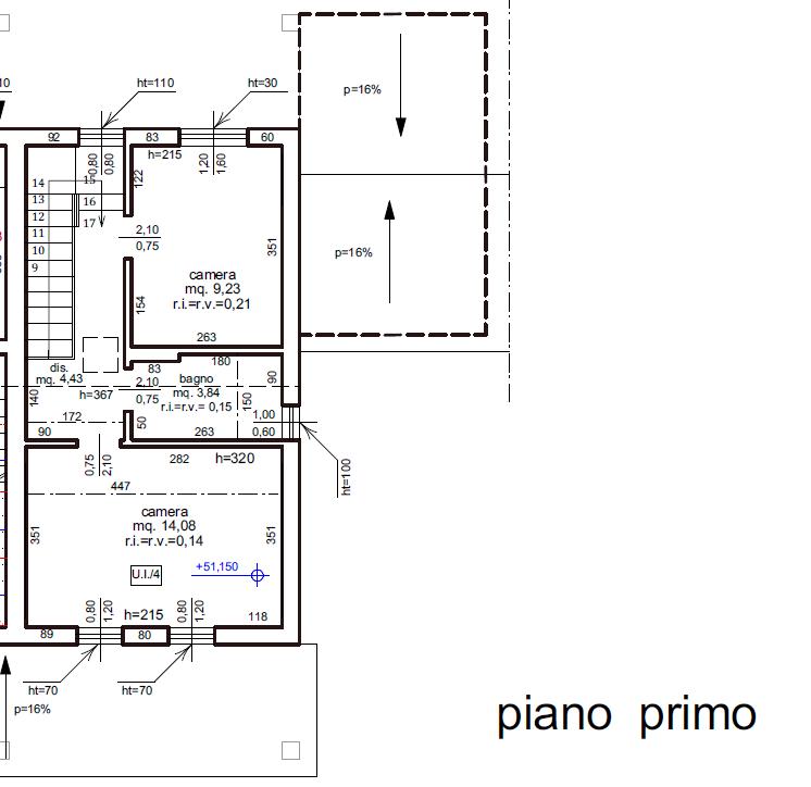 Planimetria 2/4 per rif. B/0171