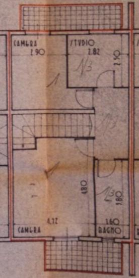 Terratetto in vendita, rif. B/0223 (Planimetria 2/3)