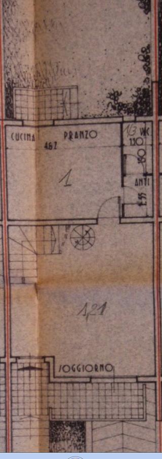 Terratetto in vendita, rif. B/0223 (Planimetria 1/3)