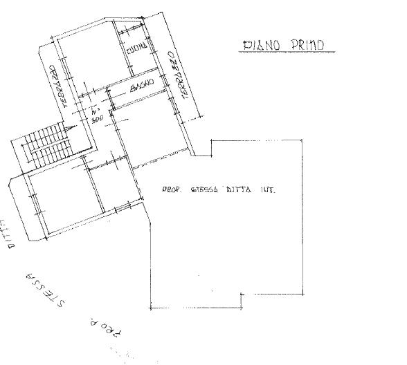 Planimetria 1/1 per rif. B/0180