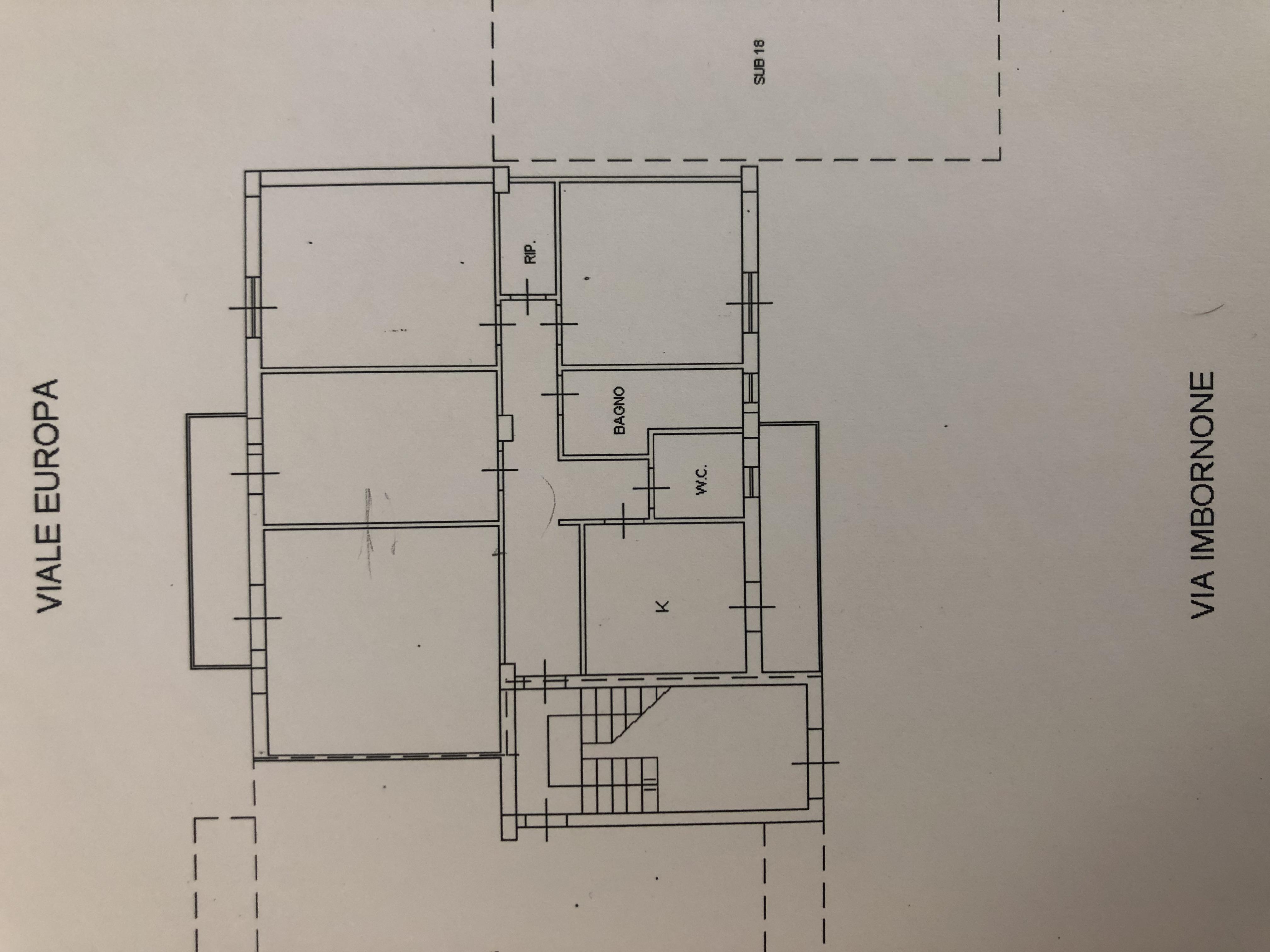 Planimetria 1/1 per rif. F/0278