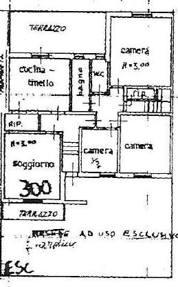 Planimetria 1/1 per rif. P/0134