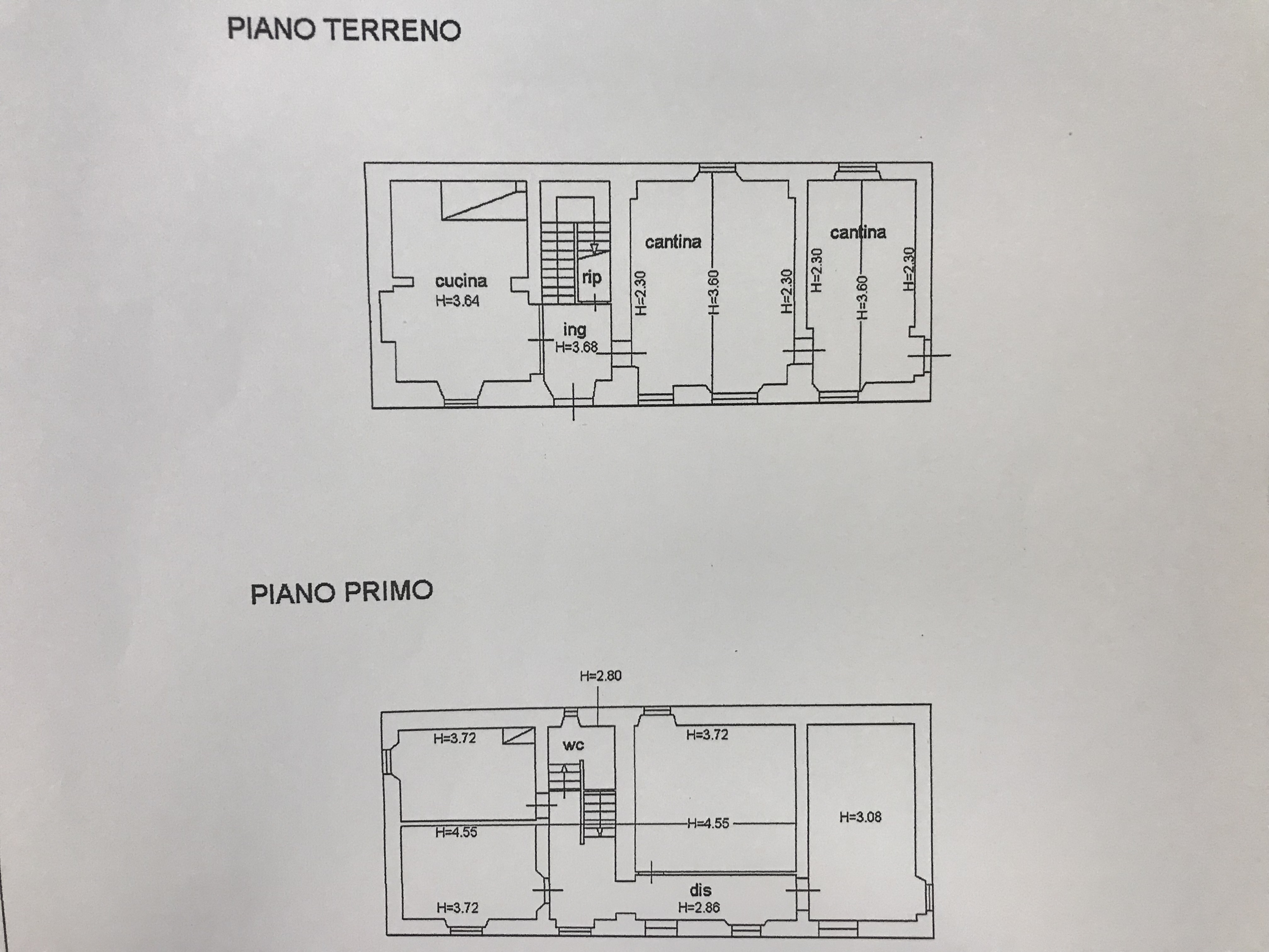 Planimetria 1/1 per rif. M/0225