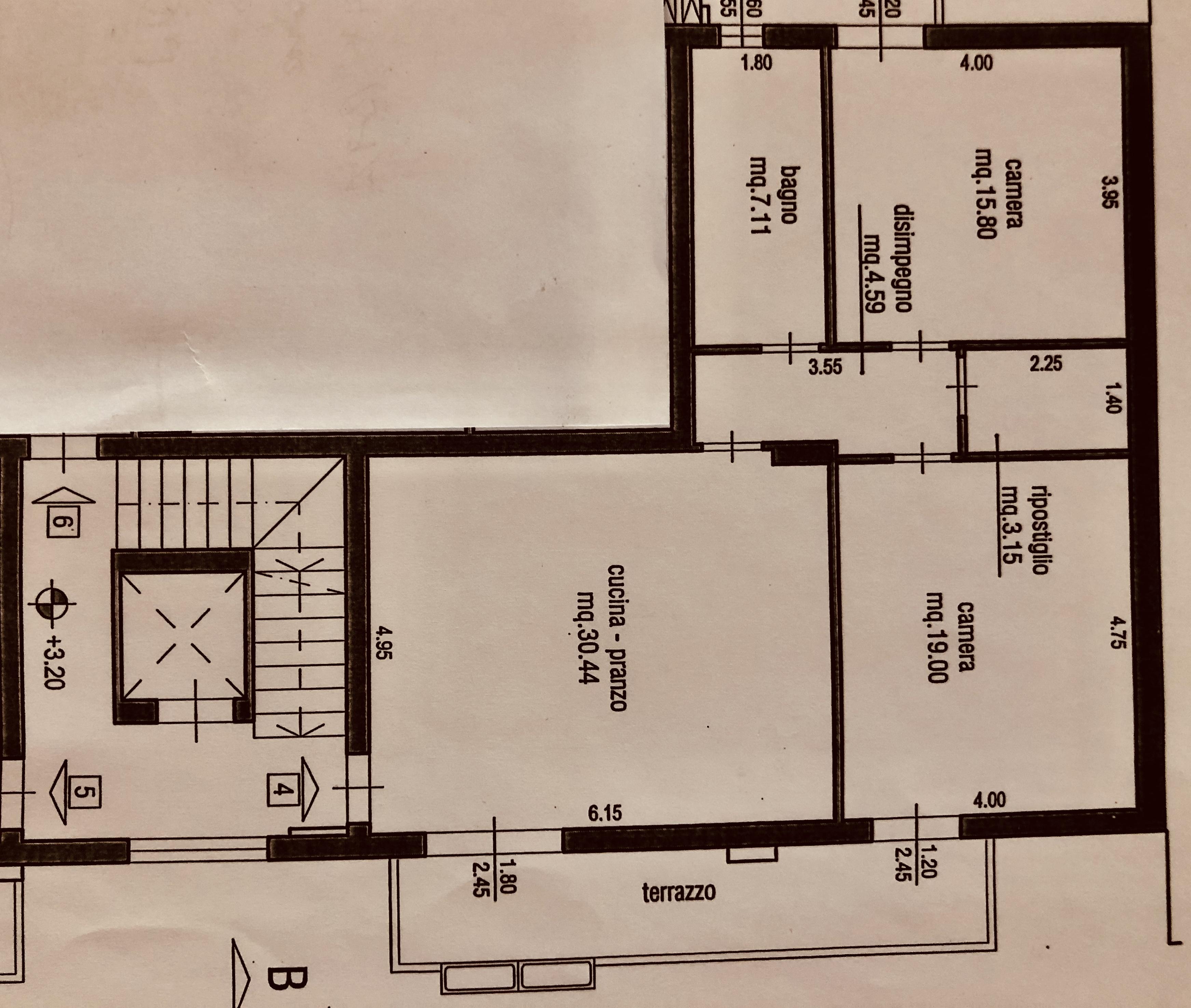 Planimetria 1/1 per rif. F/0281