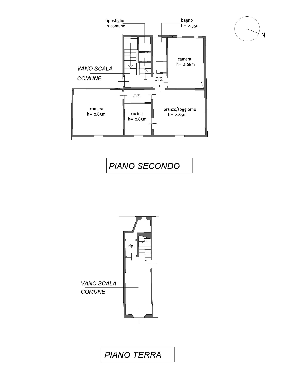 Planimetria 1/1 per rif. M/0229