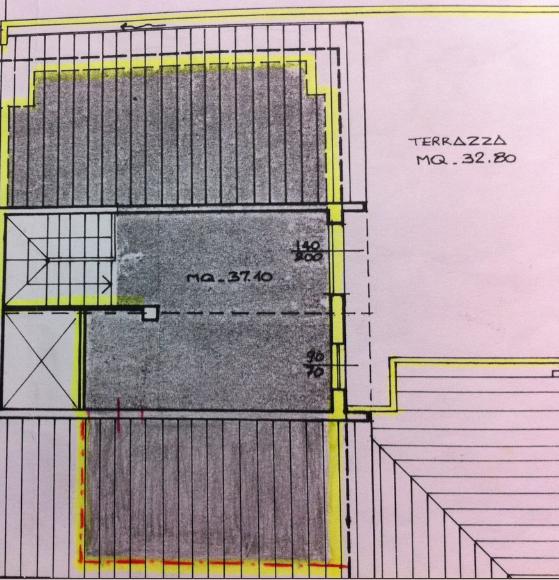 Planimetria 2/2 per rif. P/0138