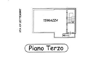 Planimetria 3/4 per rif. P/0143