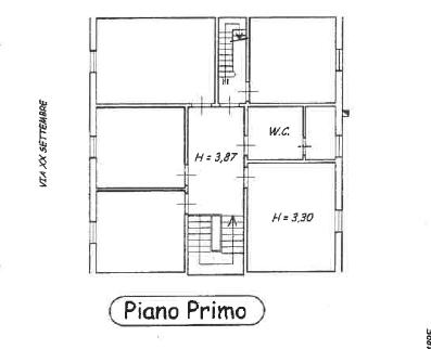 Planimetria 2/4 per rif. P/0143