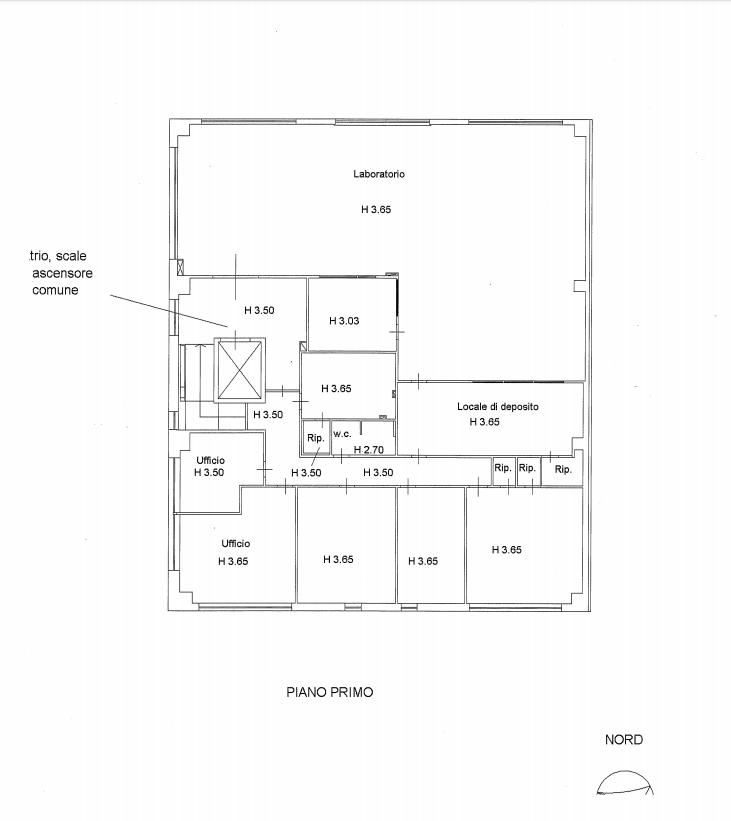 Planimetria 2/4 per rif. F/0292