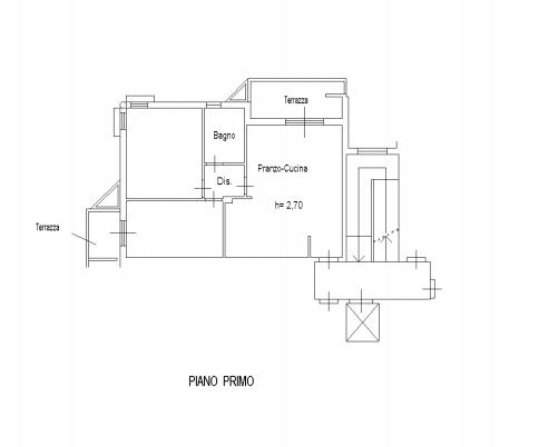 Planimetria 1/3 per rif. F/0294