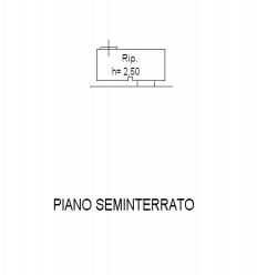 Planimetria 3/3 per rif. F/0294