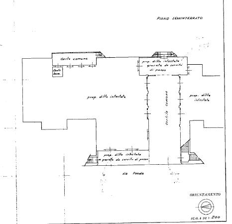 Planimetria 1/2 per rif. B/0192