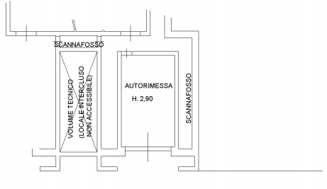 Planimetria 2/3 per rif. F/0297