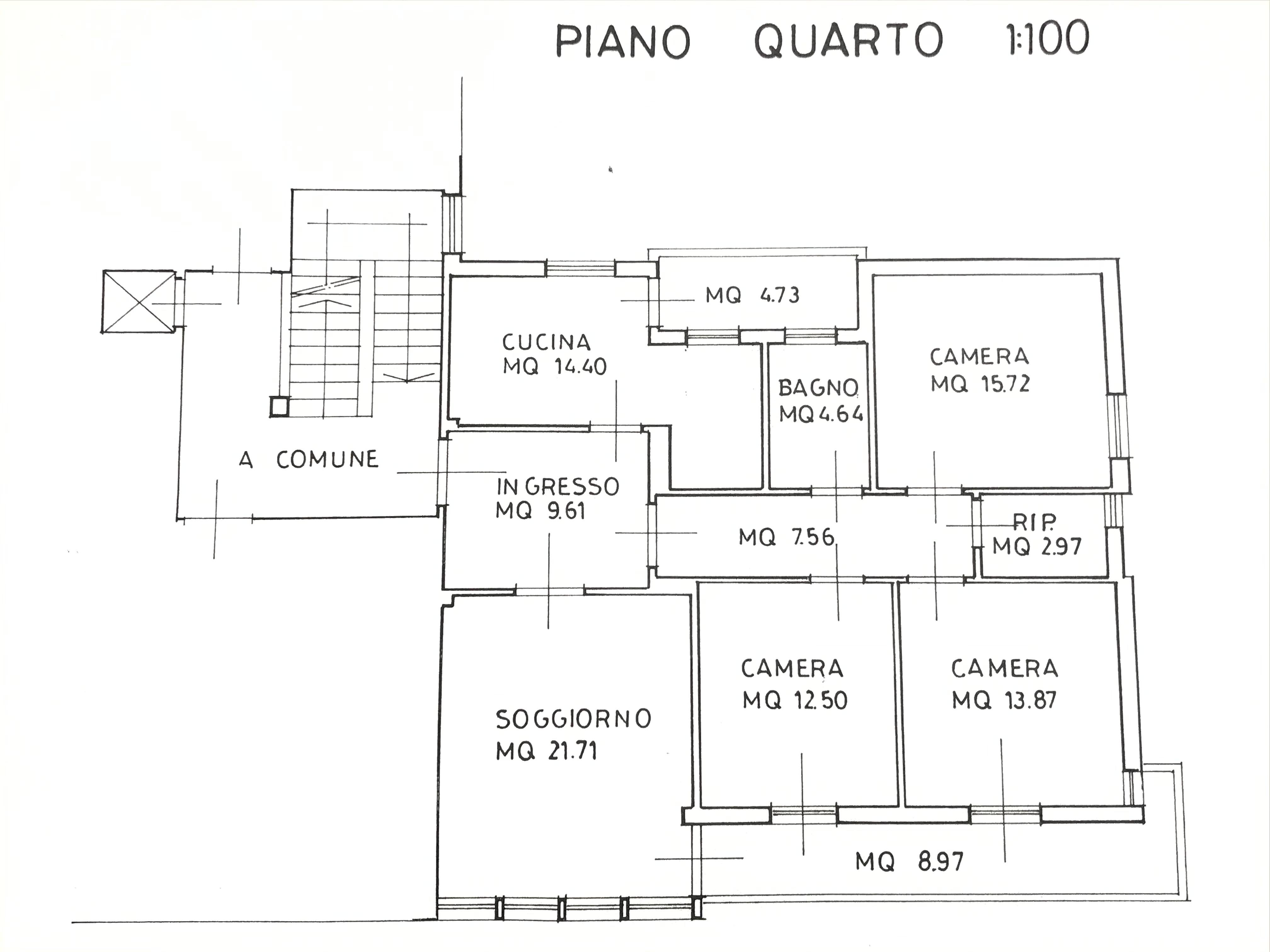 Planimetria 1/1 per rif. M/0247