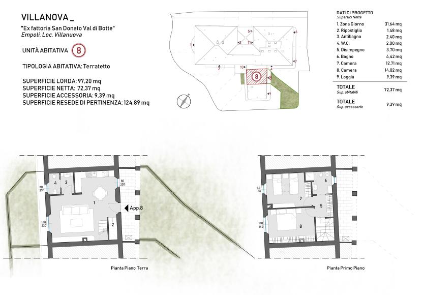 Planimetria 1/1 per rif. F/0302