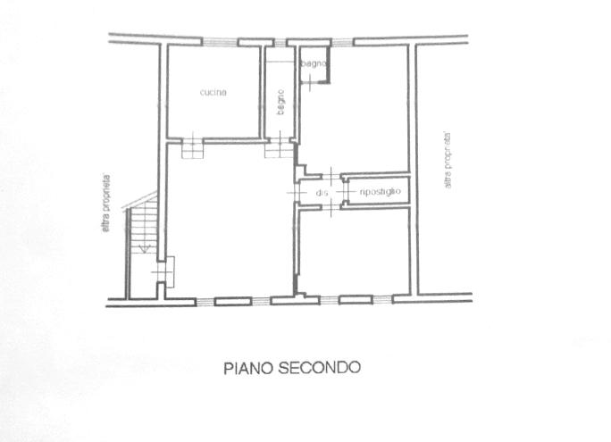 Planimetria 1/1 per rif. P/0150