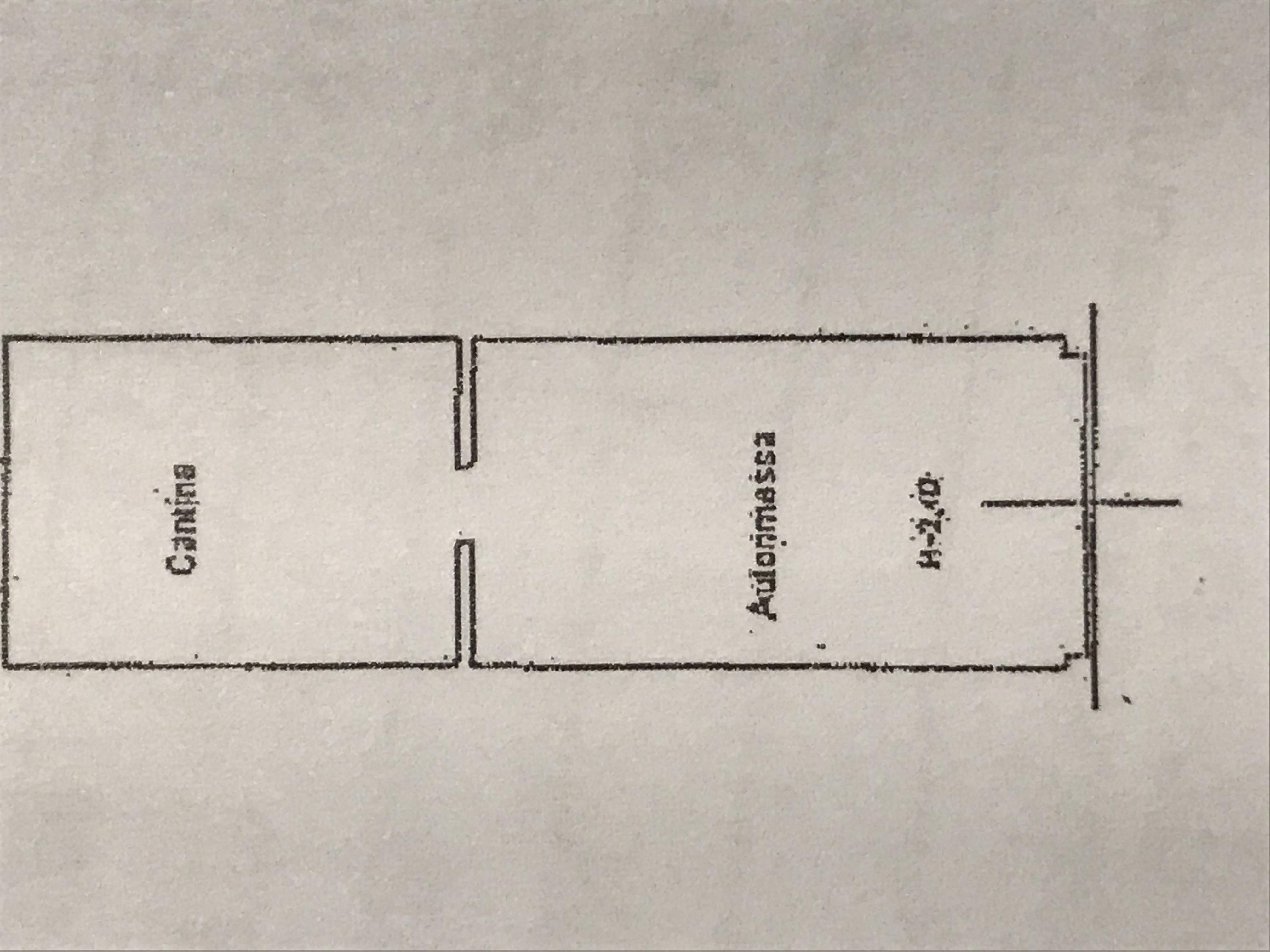 Planimetria 2/2 per rif. M/0251