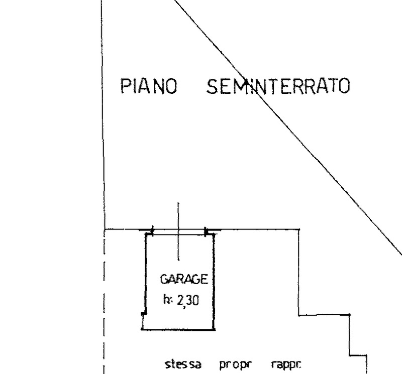 Planimetria 2/2 per rif. F/0308