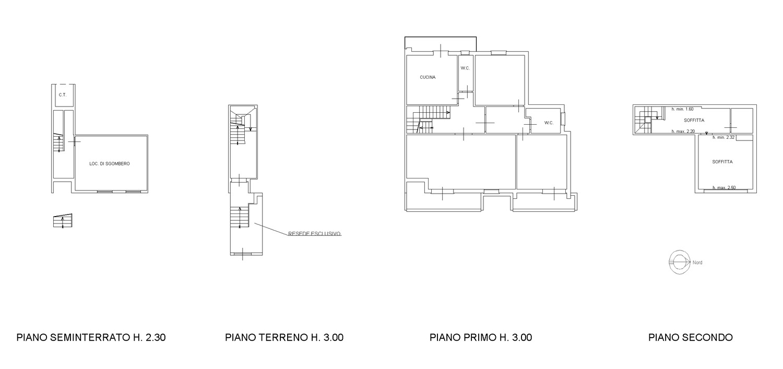 Planimetria 1/2 per rif. F/0308