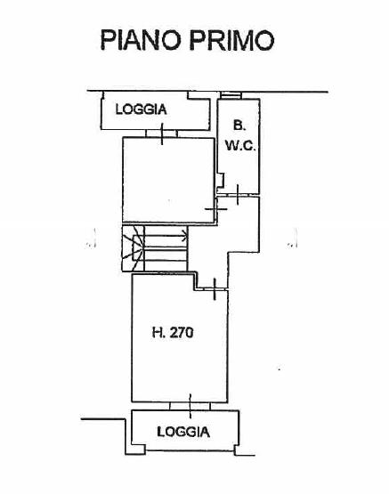 Planimetria 2/2 per rif. P/0154