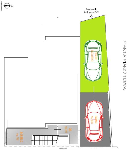 Planimetria 2/2 per rif. F/0314