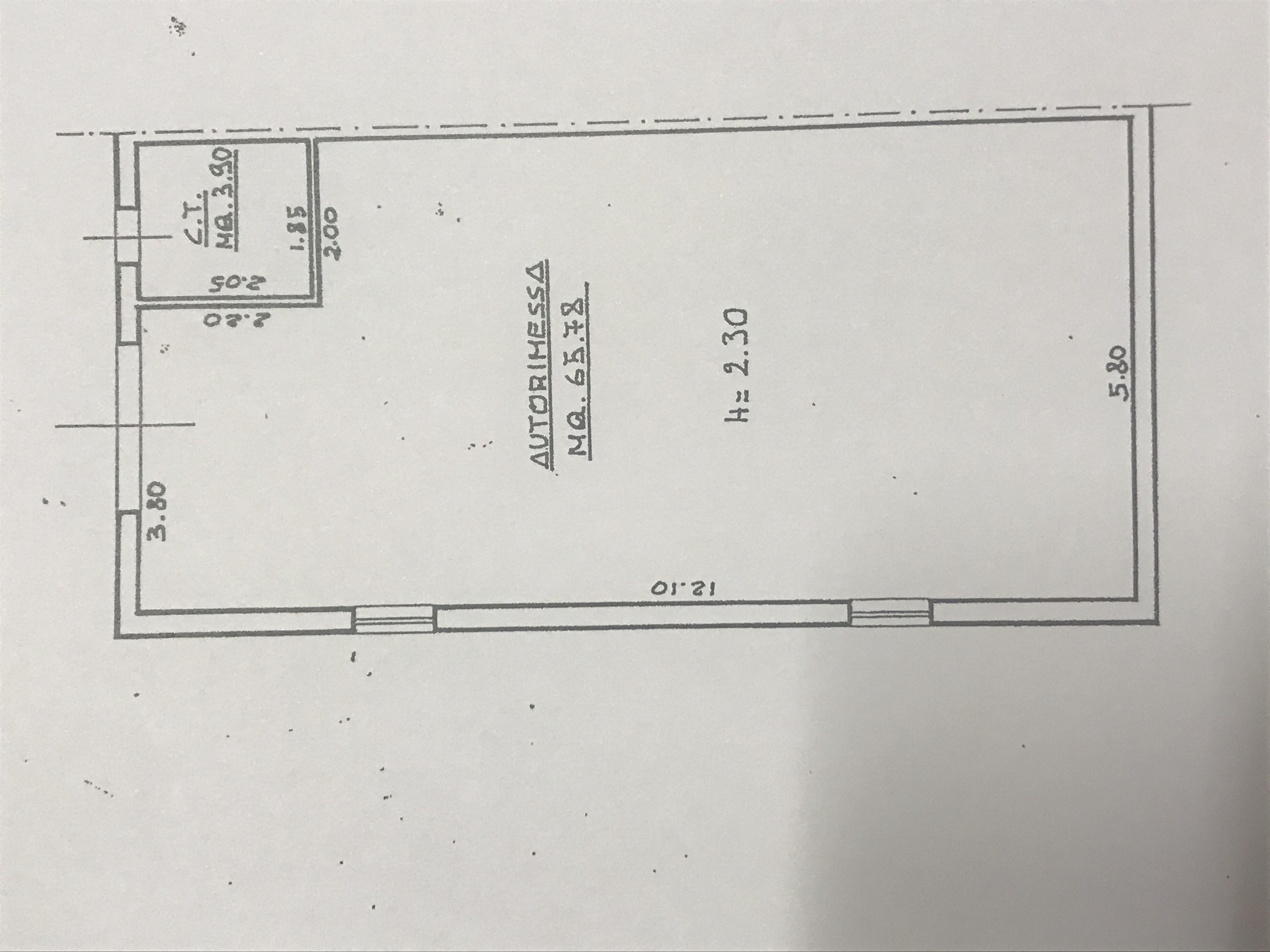 Planimetria 2/2 per rif. M/0260