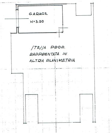 Villa singola in vendita, rif. P/0177 (Planimetria 3/3)