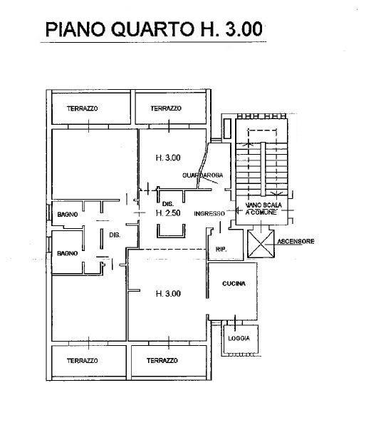 Planimetria 1/1 per rif. M/0264