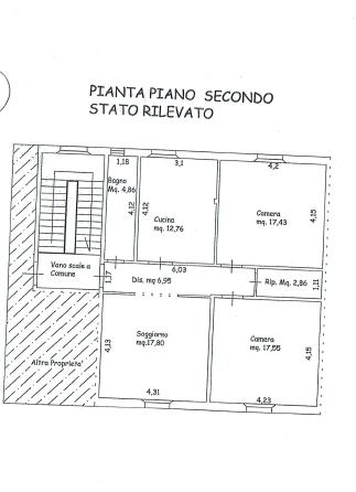 Planimetria 1/1 per rif. P/0161