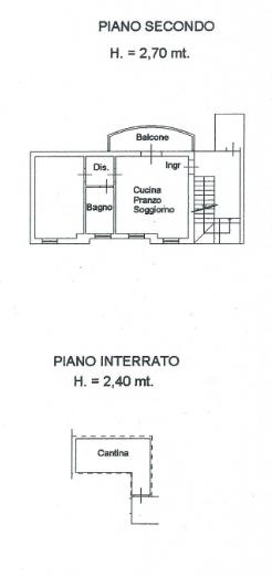 Planimetria 1/1 per rif. B/0214