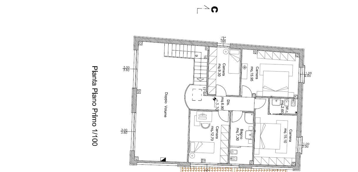 Planimetria 2/2 per rif. M/0266