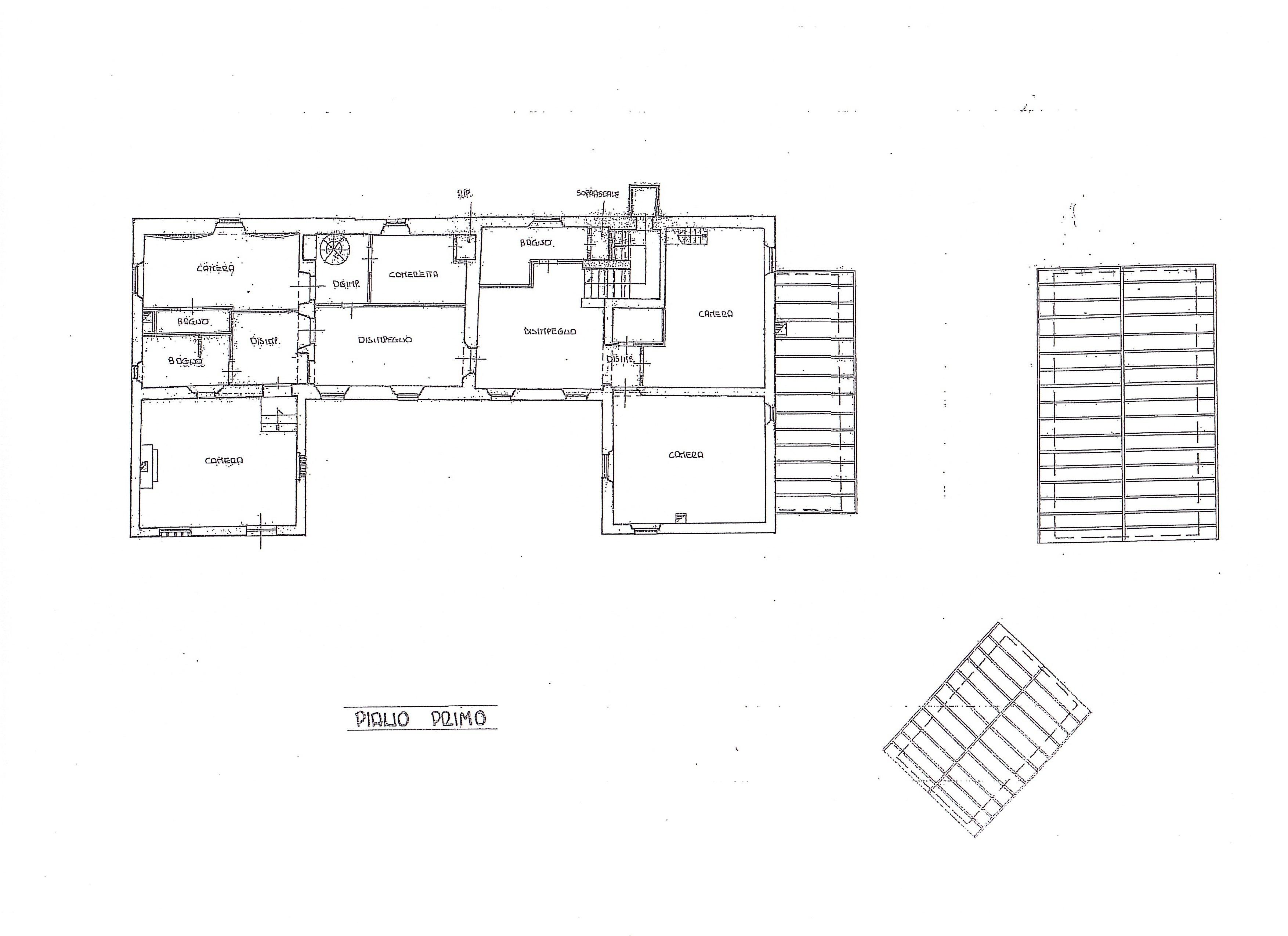 Casale in vendita, rif. B/0215 (Planimetria 2/2)
