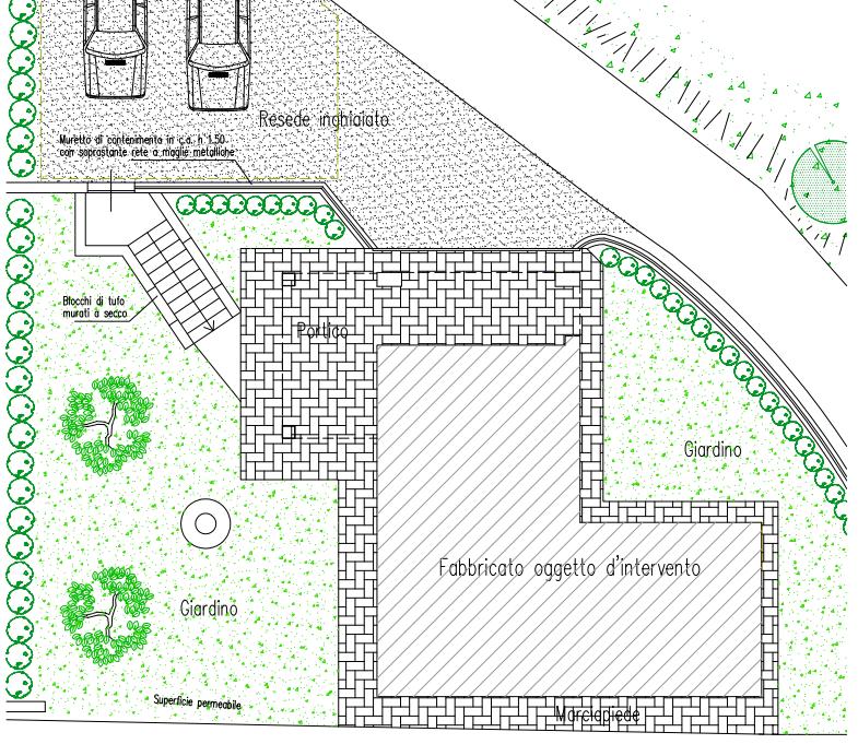 Planimetria 1/3 per rif. B/0225