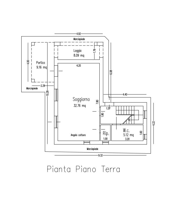 Planimetria 3/3 per rif. B/0225