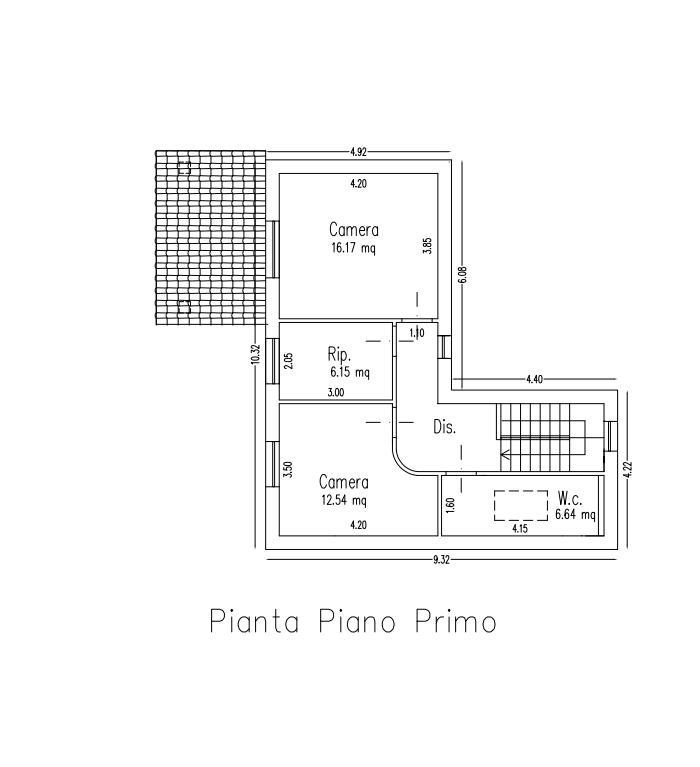 Planimetria 2/3 per rif. B/0225